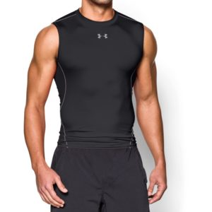 Kompresní tílko HG Armour SL Black - Under Armour