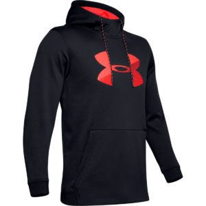 Mikina Armour Fleece PO Hoodie Black - Under Armour