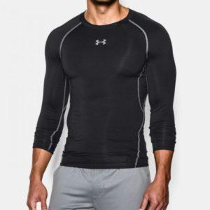 Kompresní tričko HG Armour LS Black - Under Armour