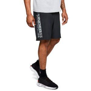 Pánské šortky Woven Graphic Wordmark Shorts Black - Under Armour