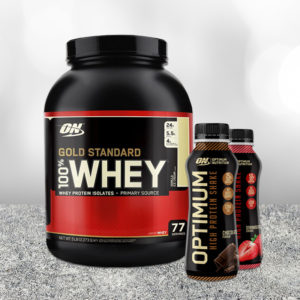 Protein 100% Whey Gold Standard - Optimum Nutrition + dárky