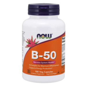 Vitamín B-50 - NOW Foods