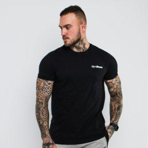 Tričko Basic Black - GymBeam