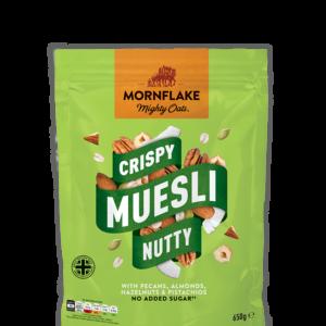 Křupavé Müsli Nutty 650 g - Mornflake