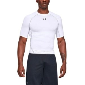 Kompresní tričko HG Armour SS White - Under Armour