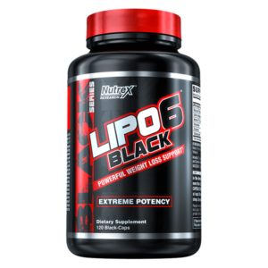 Lipo 6 Black 120 kaps - Nutrex