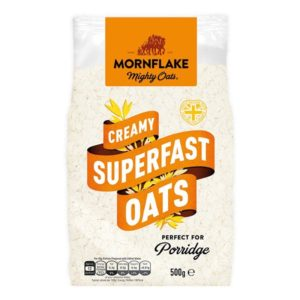 Ovesné vločky Creamy Superfast Oats 500 g - Mornflake