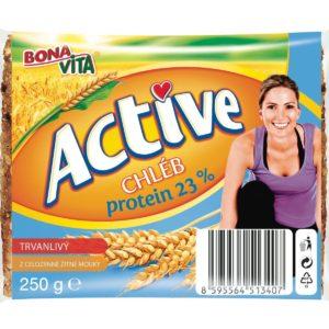 Trvanlivý chléb Active protein 23% - Bona Vita