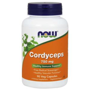 Cordyceps 750 mg - NOW Foods