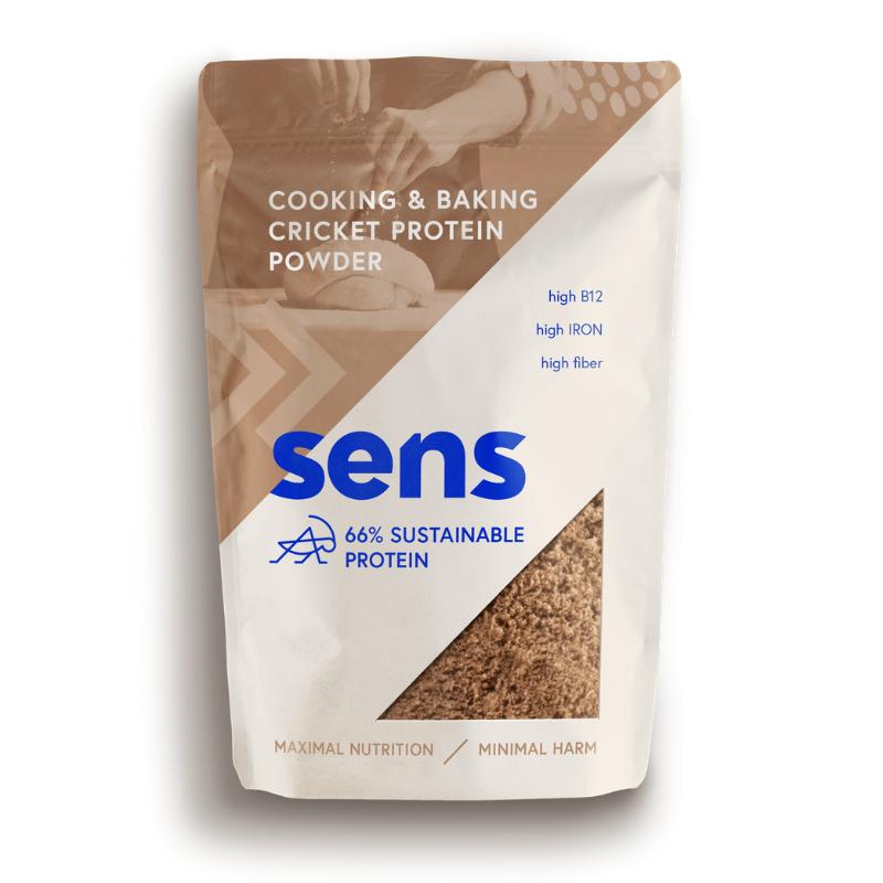Cvrččí proteinová mouka na pečení a vaření - SENS