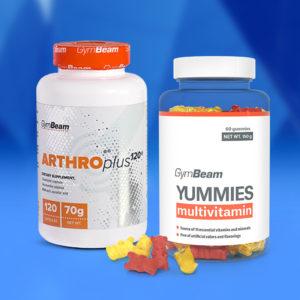 Kloubní výživa Arthro Plus 120 kaps - GymBeam + dárek