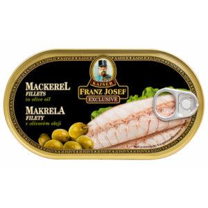 Makrela filety v olivovém oleji - Franz Josef Kaiser