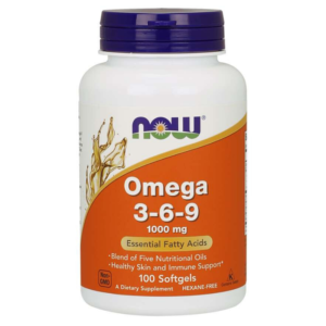 Omega 3-6-9 1000 mg - NOW Foods