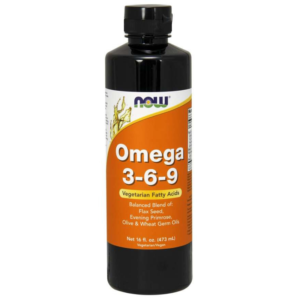 Tekuté Omega 3-6-9 - NOW Foods