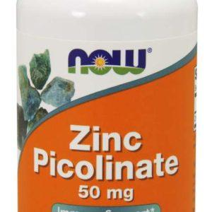 Zinek Pikolinát 50 mg - Now Foods