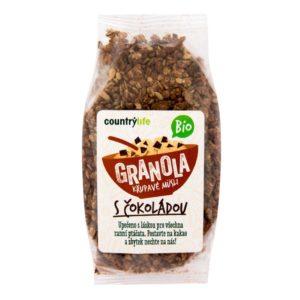 BIO Granola - Křupavé ovesné müsli 350 g - Country Life