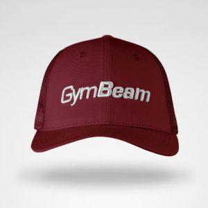 Kšiltovka Mesh Panel Cap Burgundy - GymBeam