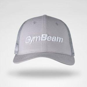 Kšiltovka Mesh Panel Cap Grey - GymBeam