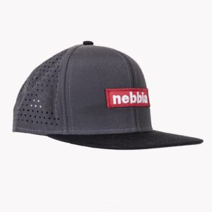 Kšiltovka Snap Back Red Label Grey - NEBBIA