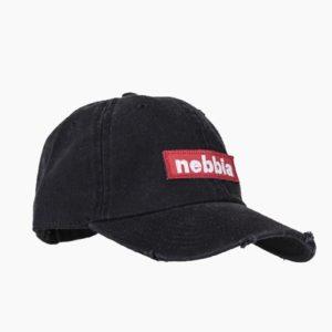 Kšiltovka Sport Red Label Black - NEBBIA