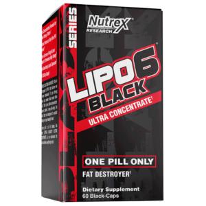 Lipo 6 Black Ultra Concentrate 60 kaps - Nutrex