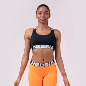 Sportovní podprsenka Power Your Hero Black - NEBBIA