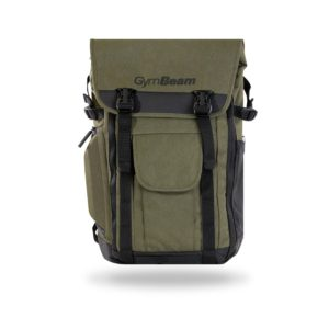 Batoh Adventure Military Green - GymBeam