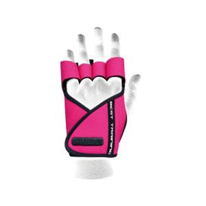Dámské fitness rukavice Lady Motivation Pink - Chiba