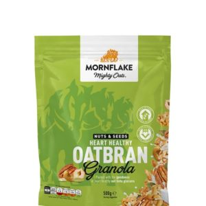 Granola Nuts & Seeds Heart Healthy Oatbran - Mornflake