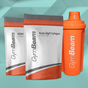 Hydrolyzovaný kolagen RunCollg - GymBeam + dárky