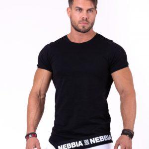 Pánské tričko Be rebel! Black - Nebbia