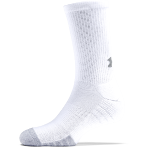 Ponožky Heatgear Crew White - Under Armour