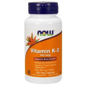 Vitamín K-2 100 mcg - NOW Foods