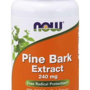 Výtažek z borovicové kůry 240 mg - NOW Foods
