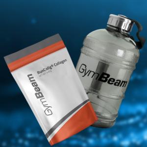 Hydrolyzovaný kolagen RunCollg - GymBeam + dárek