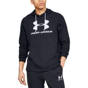 Mikina Sportstyle Terry Logo Hoodie - Under Armour