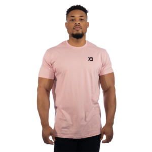 Pánské tričko Essential Tee Light Pink - Better Bodies