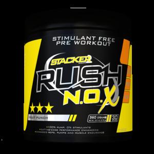 Předtréninkový stimulant Rush N.O.X - Stacker2