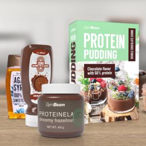 Proteinový pudink 500 g - GymBeam + dárek