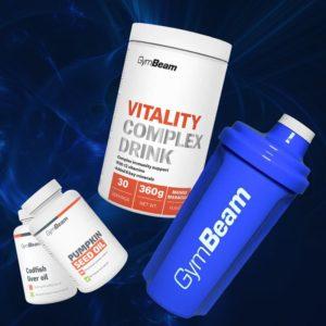 Vitality Complex Drink - GymBeam + dárky