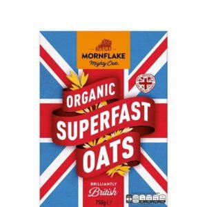 BIO Ovesné vločky Superfast Oats - Mornflake
