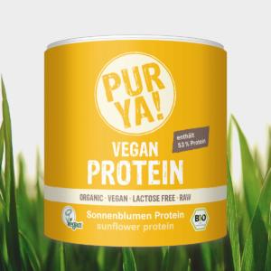 BIO Slunečnicový protein 250 g - PurYa
