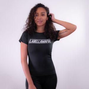 Dámské tričko Mesh Black - LABELLAMAFIA