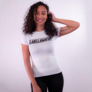 Dámské tričko Mesh White - LABELLAMAFIA