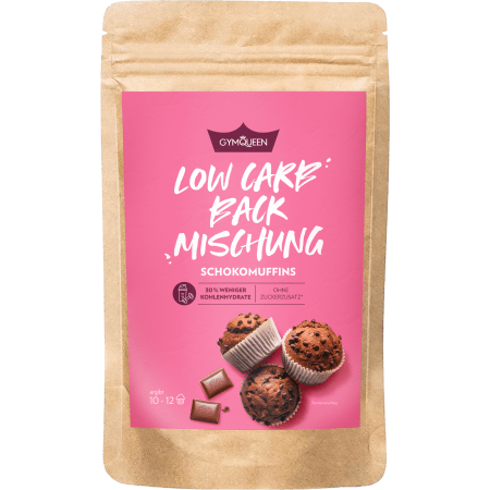 Low Carb Chocolate Muffins - GYMQUEEN