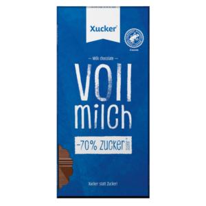 Mléčná čokoláda - Xucker