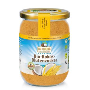 Premium BIO Cukr z kokosových květů - DR. GOERG