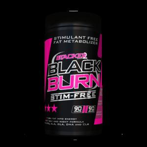 Spalovač tuků Black Burn STIM-Free - Stacker2