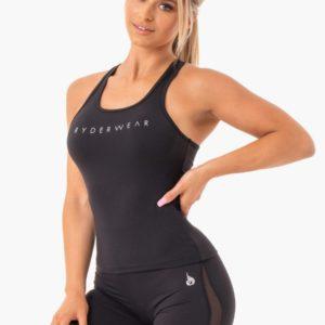 Dámské tílko Hype Racer Back Black XL - Ryderwear