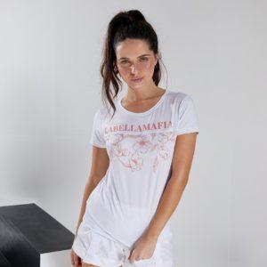 Dámské tričko Floral White L - LABELLAMAFIA